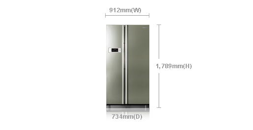 samsung-double-door-refrigerator-measurement