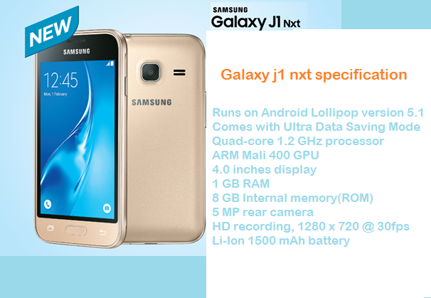 Samsung-galaxy-j1-nxt-specification