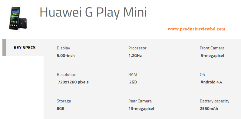 huawei_g_play_mini-specification-bd