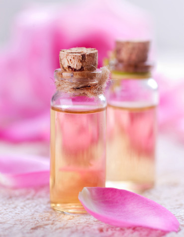 Essential Oil for Aromatherapy. Rose Spa
