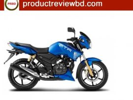 TVS Apache RTR 150 Matte Blue Edition motorcycle price in Bangladesh 2017