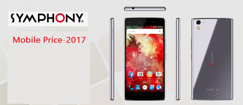 Symphony Mobile Price in Bangladesh-2017