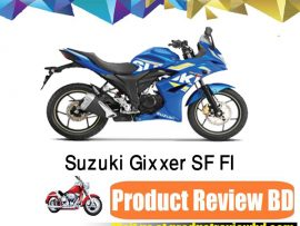 SUZUKI GIXXER SF FI Motorcycle Price in Bangladesh and Full Specification
