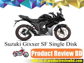 SUZUKI GIXXER SF Single Disk Motorcycle Price in Bangladesh and Full Specification