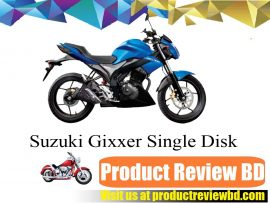 SUZUKI GIXXER Single Disk Motorcycle Price in Bangladesh and Full Specification