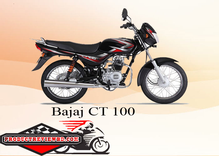 Bajaj CT100 motorcycle Price in Bangladesh Showroom Review Features