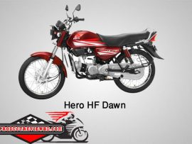 Hero HF Dawn Motorcycle Price in Bangladesh & Specification