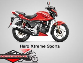 Hero Xtreme Sports Motorcycle Price in Bangladesh & Specification