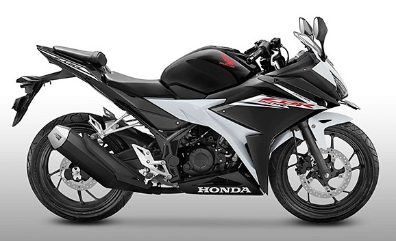 2017-Honda-CBR150R-slick-black-white-side