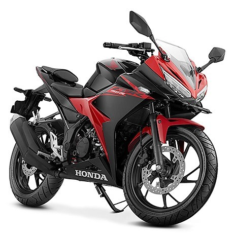 2017-Honda-CBR150R-victory-black-red-front-three-quarter
