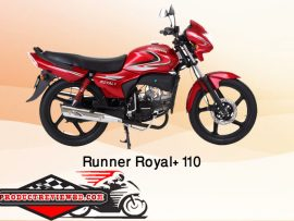 Runner Royal+ 110 Motorcycle Price in Bangladesh Showroom Review Features