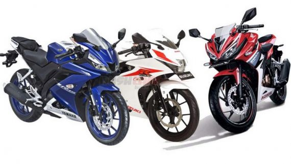 New Yamaha R15 V3 vs Suzuki GSX150R vs Honda CBR150R-Who is the Winner?