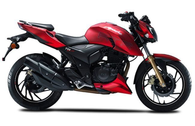 New TVS Apache RTR 160 is Coming Soon: Styling bits from the RTR 200